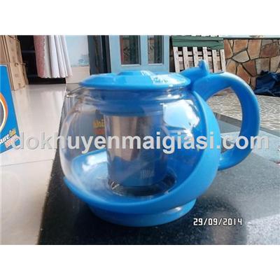 Bình lọc trà thủy tinh Ensure 700ml