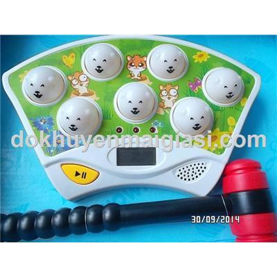 Bộ trò chơi đập chuột Abbott dùng pin vui nhộn giúp bé luyện kỹ năng mắt và tay - Tặng kèm pin