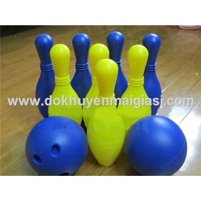 Bộ bowling Abbott bằng nhựa 8 ky cỡ lớn cho bé