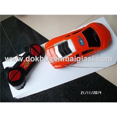 Màu cam: Xe điều khiển Enfa kiểu dáng Lamborghini - Tặng pin