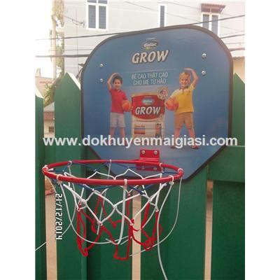 Bộ đồ chơi bóng rổ Dielac giúp bé phát triển chiều cao tối đa