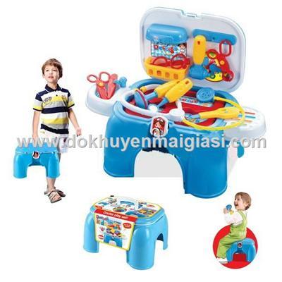 Bộ đồ chơi bác sĩ chuyên nghiệp 2 trong 1 của sữa Enfa tặng