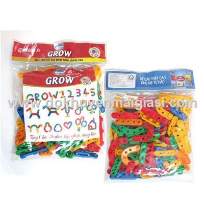 Bộ ghép hình sáng tạo Dielac Grow 84 miếng