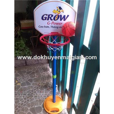Bộ trò chơi bóng rổ Abbott Grow (mẫu mới) giúp bé phát triển chiều cao tối đa