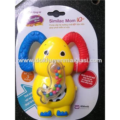 Xúc xắc Similac Mom hình voi dùng pin có nhạc - Tặng pin