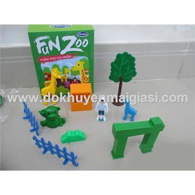 Vườn thú vui nhộn Vinamilk bằng nhựa - Bộ 3