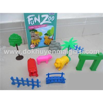 Vườn thú vui nhộn Vinamilk bằng nhựa - Bộ 4