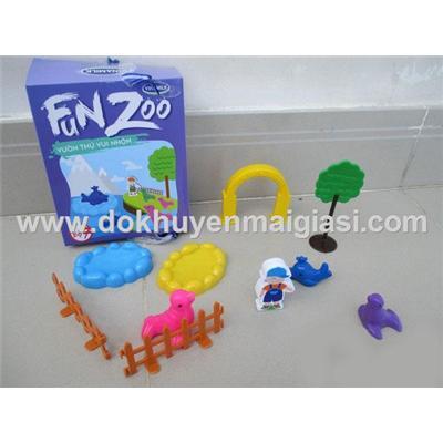 Vườn thú vui nhộn Vinamilk bằng nhựa - Bộ 7