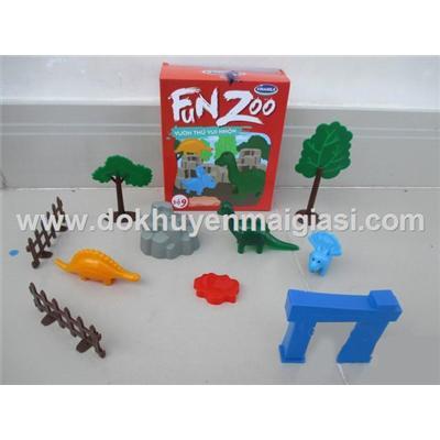 Vườn thú vui nhộn Vinamilk bằng nhựa - Bộ 9