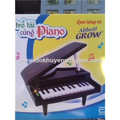 Đàn Piano Abbott mini cho bé dùng pin - Tặng kèm pin