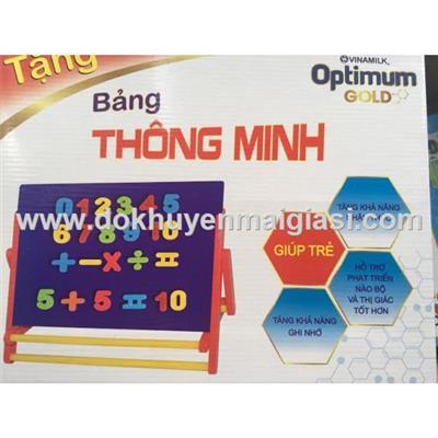 Bảng học thông minh (bảng nam châm) Dielac 2 mặt cho bé học toán