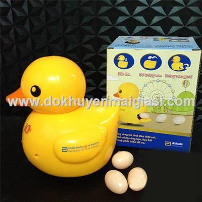 Vịt đẻ trứng Abbott dùng pin - Tặng kèm pin