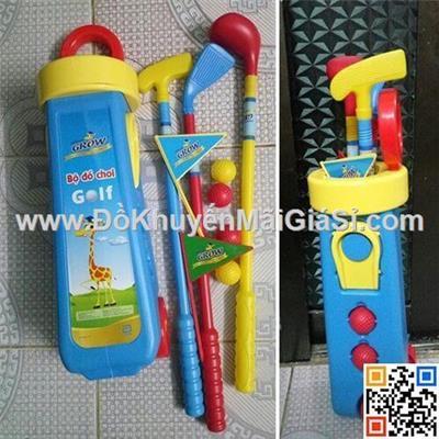 Bộ đồ chơi đánh golf Abbott Grow bằng nhựa cho bé