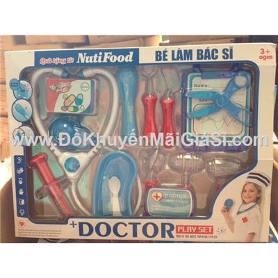 Bộ đồ chơi bác sĩ NutiFood 16 món