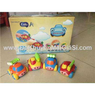 Bộ 4 xe chạy trớn Enfa