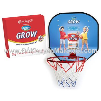 Bộ trò chơi bóng rổ Dielac giúp bé phát triển chiều cao tối đa