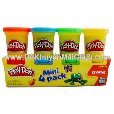 Bột nặn Play-Doh 4 màu - Sữa Dumex tặng