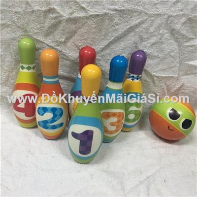 Bộ đồ chơi bowling Enfa mới mềm mại cho bé