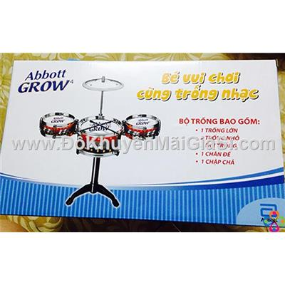 Bộ trống Abbott Grow 3 cái cho bé