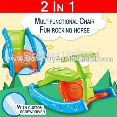 Bập bênh Enfa kiêm ghế ngồi cho bé 2 - 4 tuổi - Phí giao hàng tính riêng 10 ngàn