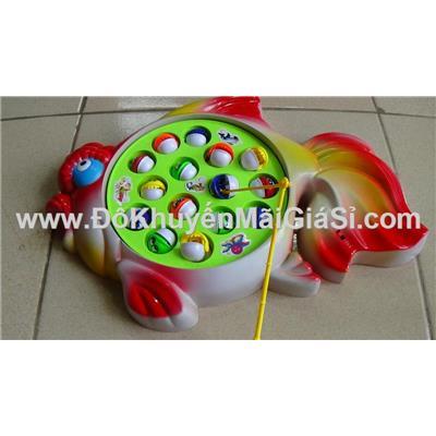 Có 4 màu: Vỉ câu cá dùng pin hình cá - Tặng kèm pin
