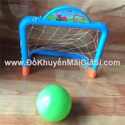 Bộ khung thành bóng đá mini Vinamilk cho bé bằng nhựa - Kt: (27.5 x 33 x 18) cm