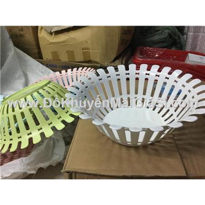 Bộ 2 rổ nhựa hoa mặt trời Vinamilk đường kính 31 cm