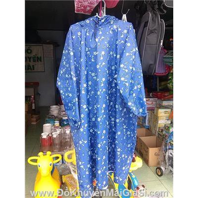 Áo mưa vải dù thời trang không xẻ tà cho người lớn - Có 22 màu