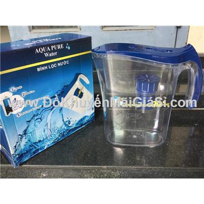 Bình lọc nước Aqua Pure than hoạt tính kháng khuẩn dung tích 4.5 lít - Sữa Ensure tặng