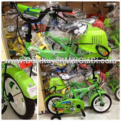 Xe đạp Enfa cho bé 2 - 4 tuổi, có giỏ trước, yên sau, bánh xe 12 inch - Phí giao hàng tính riêng 30 ngàn