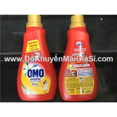 Chai nước giặt Omo Matic Comfort tinh dầu thơm 720g