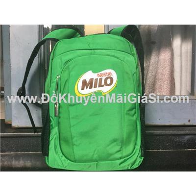 Balo học sinh Milo nhiều ngăn, kích thước: (40 x 32 x 12) cm