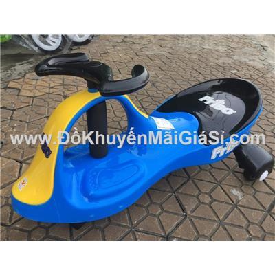 Xe lắc Friso Nhựa Chợ Lớn cho bé 2 - 3 tuổi - Kt: (60 x 32 x 36) cm