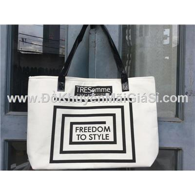 """Túi xách Tressemme """"Freedom to style"""" vải bố size lớn - Kt: (47 x 10 x 30) cm"""