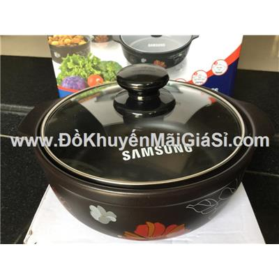 Nồi sứ cao cấp nắp kính Tucbeghi Dong Hwa GF-705 dung tích 2.68 lít dùng được trên tất cả các loại bếp