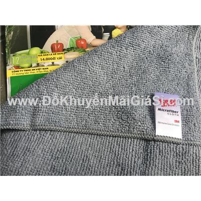 Bộ 3 khăn lau Microfiber tiện dụng Scotch Brite 3M - Kt: (30 x 30) cm