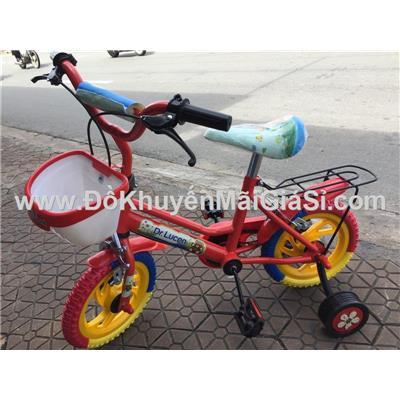 Xe đạp Dr. Lucen cho bé 2 - 4 tuổi, có giỏ trước, yên sau, bánh xe 12 in - Phí giao hàng tính riêng 30 ngàn