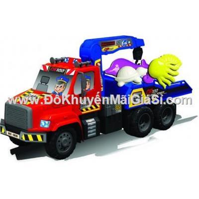 Xe cần cẩu Nhựa Chợ Lớn cỡ lớn có đồ chơi biển - Sữa Friso tặng