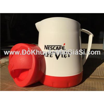 Bình đá 1 lít nhựa Đại Đồng Tiến của Nestcafe (Cafe Việt) tặng