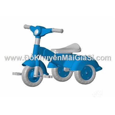 Màu xanh: Xe đạp nhựa 3 bánh Vinamilk cho bé 2 đến 3 tuổi - Kt: (68.7 x 49 x 48.9) cm - Phí giao hàng tính riêng 10 ngàn