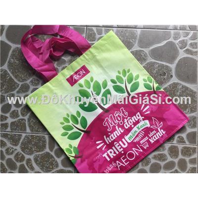 Túi xách Aeon bảo vệ môi trường cỡ lớn - Kt: (39.5 x 21.5 x 41.5) cm