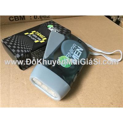 Đèn pin mini Garnier Men sạc tay - Kt: (10 x 4.8) cm