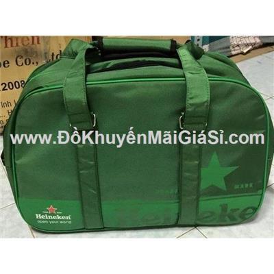 Túi xách du lịch đẳng cấp Heineken - Kt: (55 x 30 x 25) cm