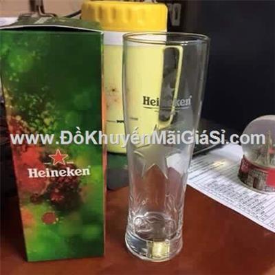 Ly thủy tinh đẳng cấp Heineken nhập khẩu từ Pháp phiên bản ngôi sao nổi