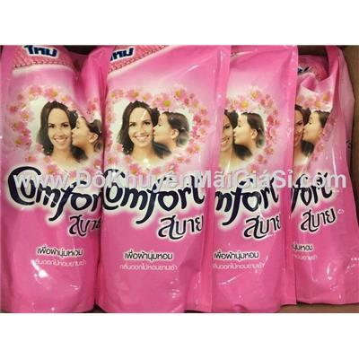 Màu hồng: Lốc 3 bịch nước xả Comfort Thái - Tổng dung tích 1800ml