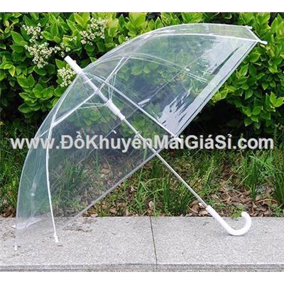 Dù đi mưa trong suốt không bị hạn chế tầm nhìn - Đường kính 86 cm