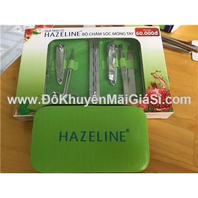 Bộ chăm sóc móng Hazeline 5 món kèm hộp đựng
