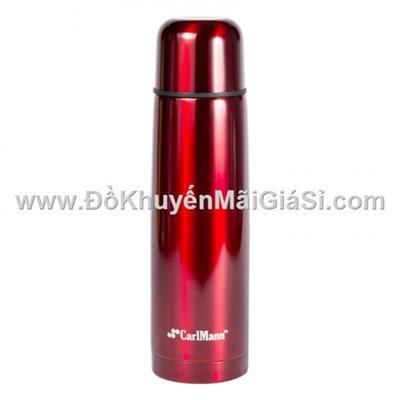 Bình giữ nhiệt lưỡng tính Lu 500 ml màu đỏ