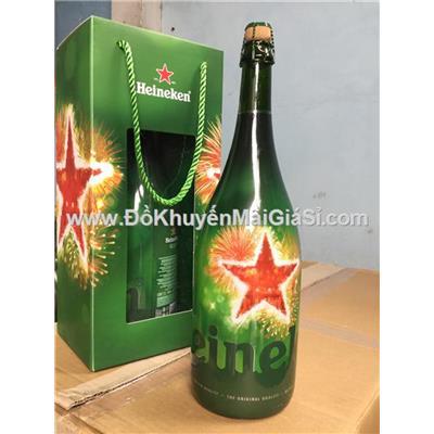 Siêu phẩm chai bia Heineken Magnum dung tích 1.5 lít nhập khẩu Hà Lan