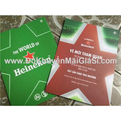 """Vé mời tham quan trải nghiệm """"The world of Heineken"""" tại tòa nhà cao nhất Sài Gòn"""